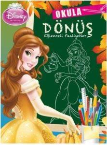 Disney Prenses-Okula Dönüş Eğlenceli Faaliyet