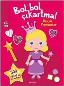 Bol Bol Çıkartma-Küçük Prensesler