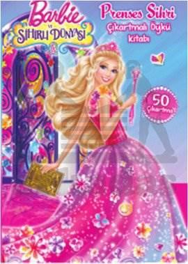 Barbie Prenses Sihri Çıkartmalı Öykü Kitabı