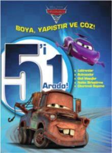 Disney Arabalar 5' i 1 Arada