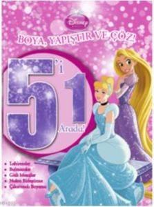 Disney Prenses - Boya Yapıştır Ve Çöz
