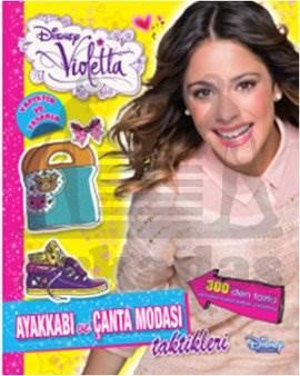 Disney Violetta Ayakkabı ve Çanta Modası Taktikleri