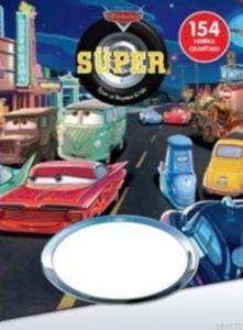 Disney Arabalar Süper Oyun ve Boyama Kitabı