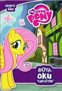 My Little Pony Sürpriz Bilet Boya Oku Yapıştır