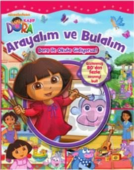 Dora Arayalım ve Bulalım - Dora ile Okula Gidiyoruz