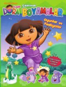 Dora Çıkartmalı Boyamalar-Oyunlar ve Faaliyetler