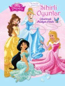 Disney Prenses - Sihirli Oyunlar Çıkartmalı Faaliyet Kitabı