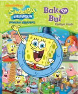 Sünger Bob Bak ve Bul Faaliyet Kitabı