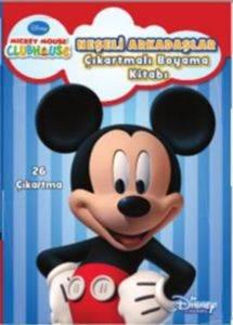 Disney MMCH Neşeli Arkadaşlar Çıkartmalı Boyama