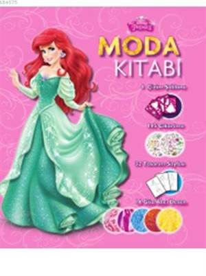 Disney Prenses - Moda Tasarım Kitabı