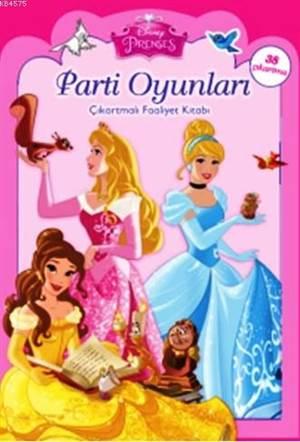 Disney Prenses Parti Oyunları - Çıkartmalı Faaliyet Kitabı