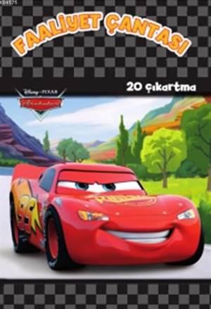 Disney Arabalar Faaliyet Çantası