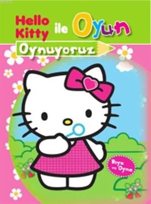 Hello Kitty ile Oyun Oynuyoruz (5+ Yaş); Boya ve Oyna