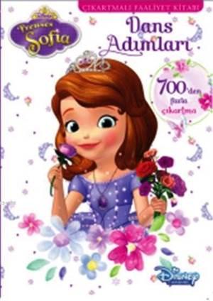 Disney Prenses Sofia - Dans Adımları Çıkartmalı Faaliyet Kitabı