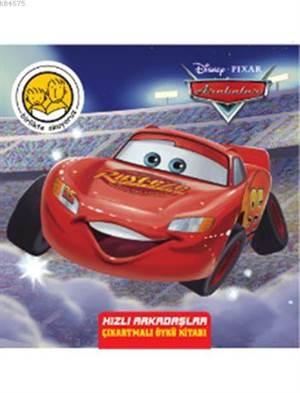 Disney Arabalar - Hızlı Arkadaşlar (4+ Yaş); Birlikte Okuyoruz Serisi - Çıkartmalı Öykü Kitabı
