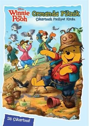 Winnie The Pooh Ormanda Piknik - Çıkartmalı Faaliyet Kitabı; 3+ Yaş