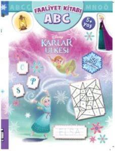 Disney Karlar Ülkesi Faaliyet Kitabı ABC (5+ Yaş); 50 Çıkartma