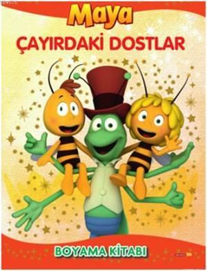 Arı Maya Çayırdaki Dostlar Boyama Kitabı