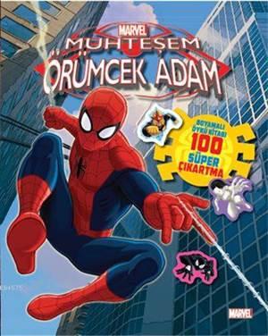 Disney Muhteşem Örümcek Adam - Çıkartmalı Boyama
