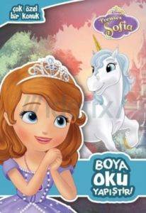 Disney Prenses Sofia - Boya - Oku - Yapıştır