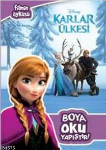 Disney Karlar Ülkesi Boya Oku Yapıştır