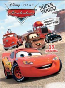 Disney Arabalar - Süper Yarışçı Çıkartmalı Faaliyet