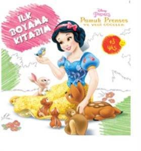 Disney İlk Boyama Kitabım Pamuk Prenses