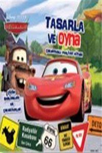 Disney Arabalar - Tasarla ve Oyna Çıkartmalı Faaliyet Kitabı