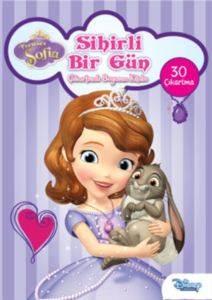 Disney Prenses Sofia - Sihirli Bir Gün Çıkartmalı Boyama Kitabı