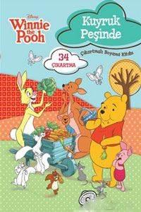Winnie Kuyruk Peşinde - Çıkartmalı Boyama Kitabı