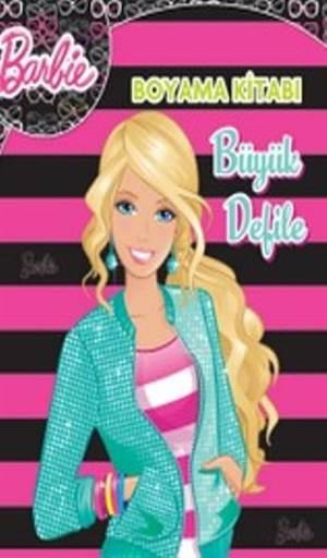 Barbie Büyük Defile; Boyama Kitabı