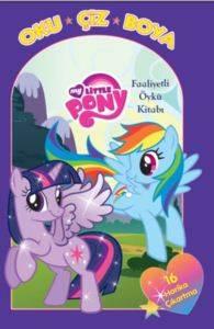 My Little Pony Oku Çiz Boya Faaliyetli Öykü Kitabı
