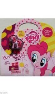 Mlp İkiz Ponyler Çıkartmalı Öykü Kitabı