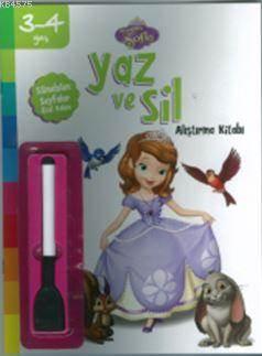 Disney 3-4 Yaş Yaz Sil Prenses Sofia