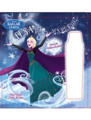 Disney Karlar Ülkesi Elsa ile Sen de Söyle Oku - Söyle Öykü Kitabı (3+ Yaş)