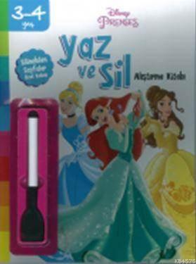 Disney 3-4 Yaş Yaz Sil Prenses