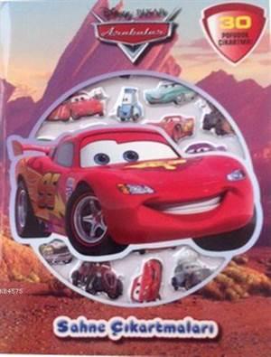 Disney Arabalar Sahne Çıkartmaları (3+ Yaş)