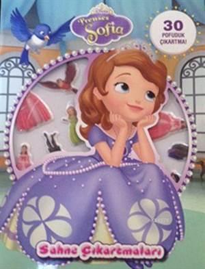 Disney Prenses Sofia - Sahne Çıkartmaları (3+ Yaş)