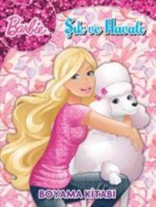 Barbie Oku Çiz Boya 2 Çıkartmalı Boyama