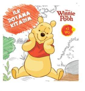 Disney İlk Boyama Kitabım Winnie The Pooh