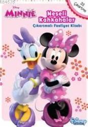 Disney Neşeli Kahkahalar Çıkartmalı Faaaliyet Kitabı