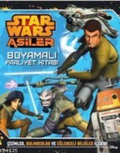 Star Wars Asiler Boyamalı Faaliyet Kitabı