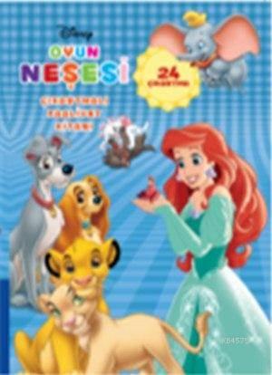 Disney Oyun Neşesi Çıkartmalı Faaliyet Kitabı