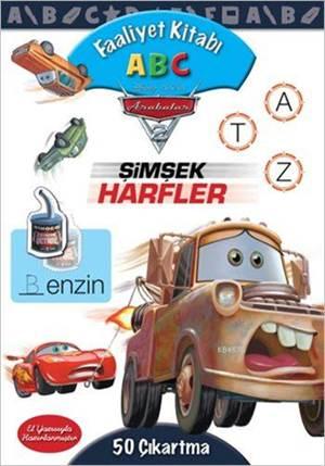 Disney Arabalar Faaliyet Kitabı Abc