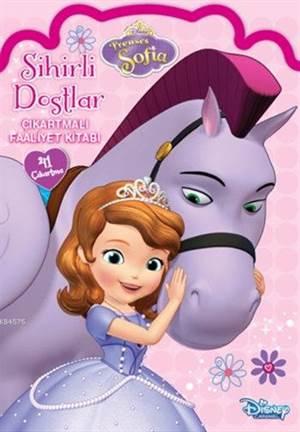 Disney Prenses Sofia - Sihirli Dostlar Çıkartmalı Faaliyet Kitabı