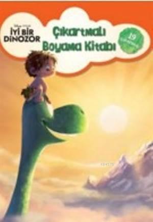 İyi Bir Dinozor Çıkartmalı Boyama Kitabı