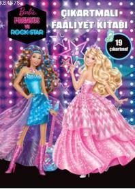 Barbıe Prenses Ve Rockstar Çıkartmalı Faaliyet Kitabı