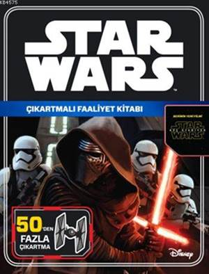Disney Star Wars - Çıkartmalı Faaliyet Kitabı (5+ Yaş)