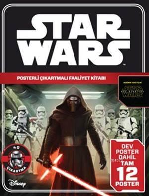 Disney Star Wars - Posterli Çıkartmalı Faaliyet Kitabı (5+ Yaş)