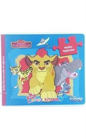Disney Aslan Koruyucular; Neşeli Yapboz Kitabım
